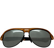 Breed Jupiter Aluminium Orange Sunglasses w/ Polarized Lenses - A361260