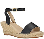 Andrew Stevens Wedge Espadrille Sandals- Leah - A414860