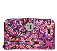 Vera Bradley RFID Turn-Lock Wallet - A414960