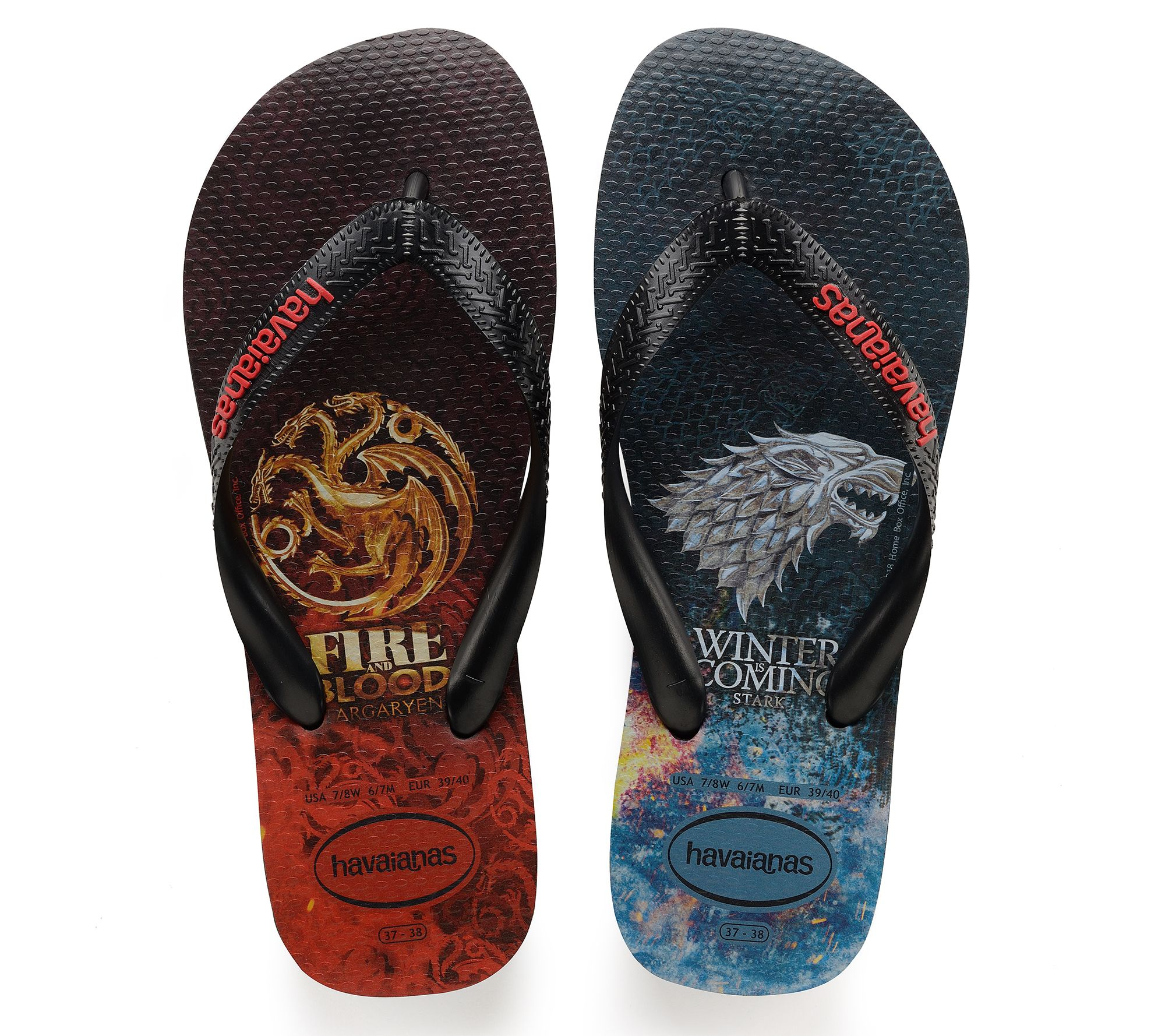 Men's Game Sandals — Havaianas Thong Of Thrones 3ALRj54