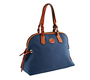 As Is Dooney & Bourke Nylon Large Domed Satchel - A238861