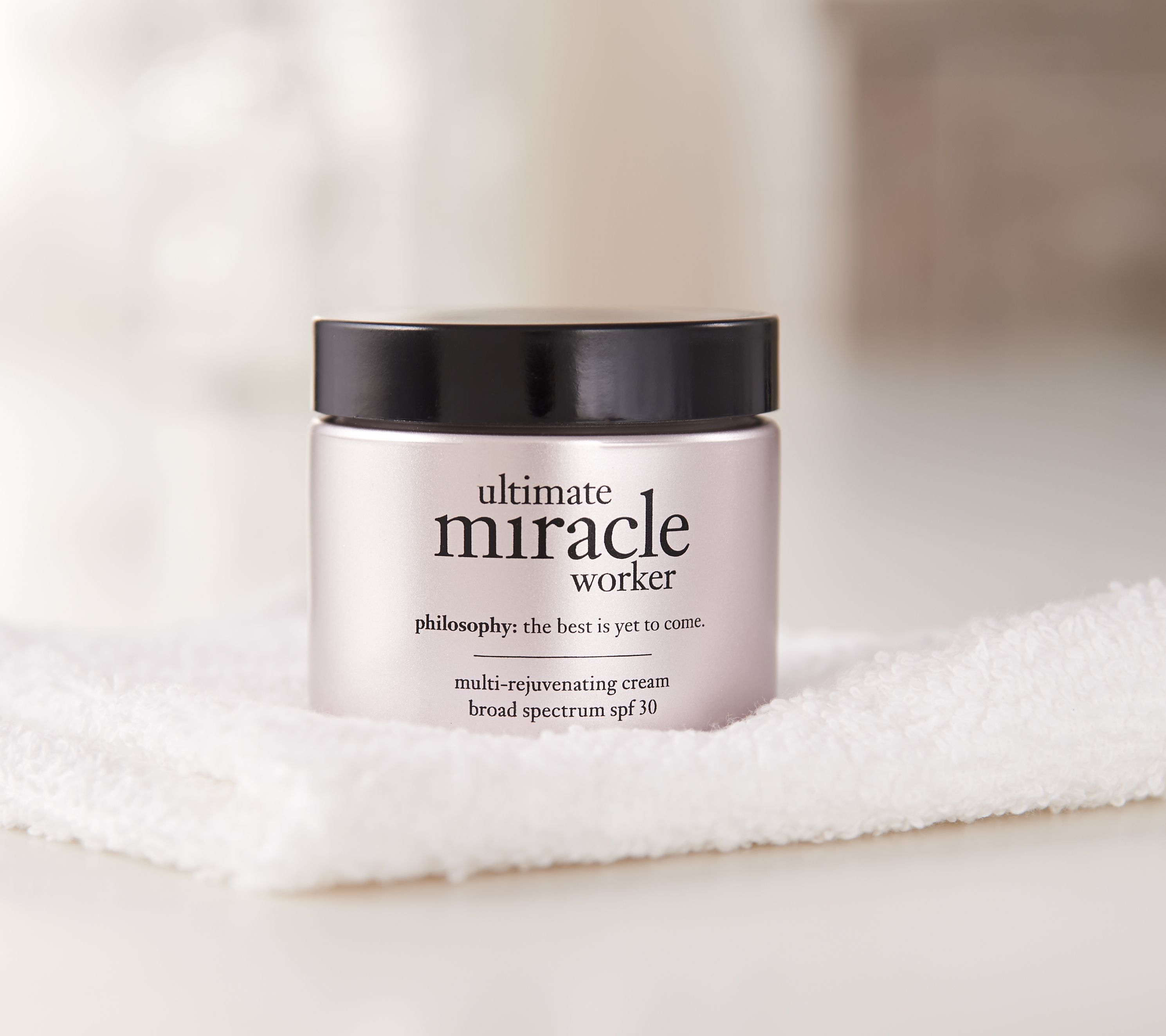 philosophy ultimate miracle worker face cream 2 oz - Page 1 — QVC.com