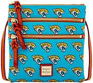 Dooney & Bourke NFL Jaguars Triple Zip Crossbody - A285661
