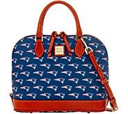 Dooney & Bourke NFL Patriots Zip Zip Satchel - A285761
