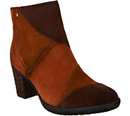 Earth Patchwork Suede Ankle Boots - Malta - A298261