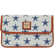 Dooney & Bourke Coated Cotton NFL Milly Wristlet - A343561