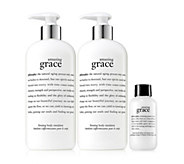 philosophy amazing grace firming body emsulsionduo with gift - A448861