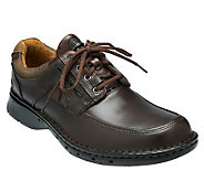 Clarks Mens Unstructured Un.Bend Leather LaceUp Shoes - A204462