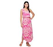 Liz Claiborne New York Rounded Hem Knit Maxi Dress - A254862