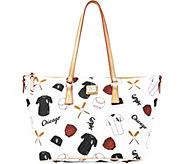 Dooney & Bourke MLB White Sox Zip Top Shopper - A280062