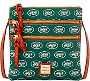 Dooney & Bourke NFL Jets Triple Zip Crossbody - A285662