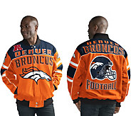 NFL Cotton Twill Snap Closure Jacket - A298262