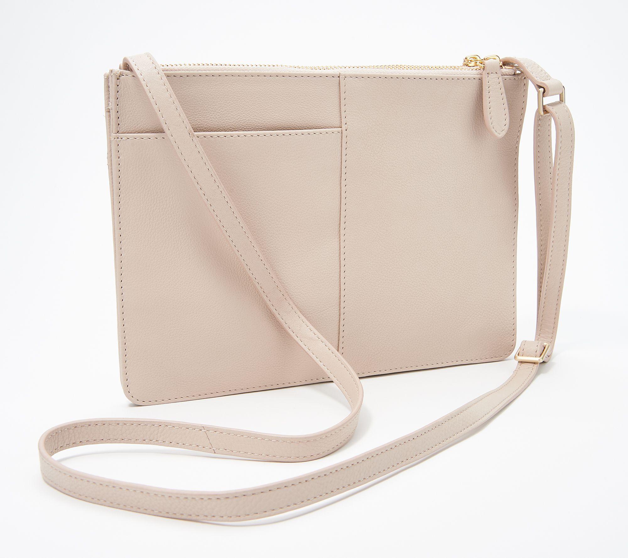 df1462e21b4 RADLEY London Pocket Leather Medium Crossbody Handbag - Page 1 — QVC.com