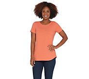 Wicked by Women with Control Essentials Cap Sleeve T-shirt - A301362