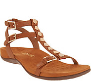 Vionic Leather Multi-Strap Sandals - Hailey - A303462