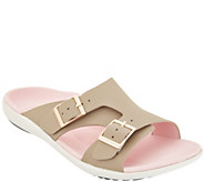 Spenco Orthotic Adjustable Slide Sandals - Brighton - A304862