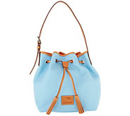 Dooney & Bourke Patterson Leather Drawstring Handbag- Aimee - A304962