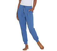 AnyBody Loungewear Petite Lt French Terry Jogger Pants - A306962