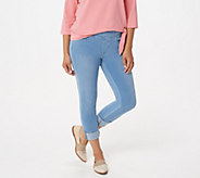 Belle by Kim Gravel Regular Flexibelle Cuffed Jeans - A345862