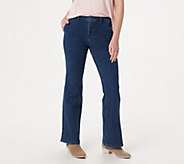 BROOKE SHIELDS Timeless Tall Flare Jeans -Indigo - A351362