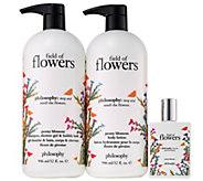 philosophy field of flowers super-size 3-piece kit - A353162