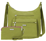 Baggallini Day Trip Hobo with RFID Phone Wristlet - A412862
