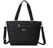 baggallini Quilted Avenue Tote with RFID - A413062