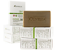 Olivella Set of 6 100Virgin Olive Oil Beauty Bars - A81962