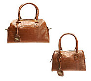 Wendy Williams Leather Satchel - A226163