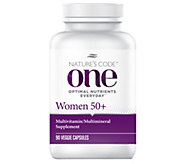 Natures Code ONE 90 Day Once Daily Womens Multivitamin Capsules - A254163