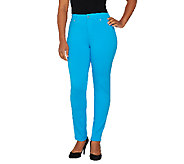 Isaac Mizrahi Live! Regular Ponte Knit Ankle Pants - A260963