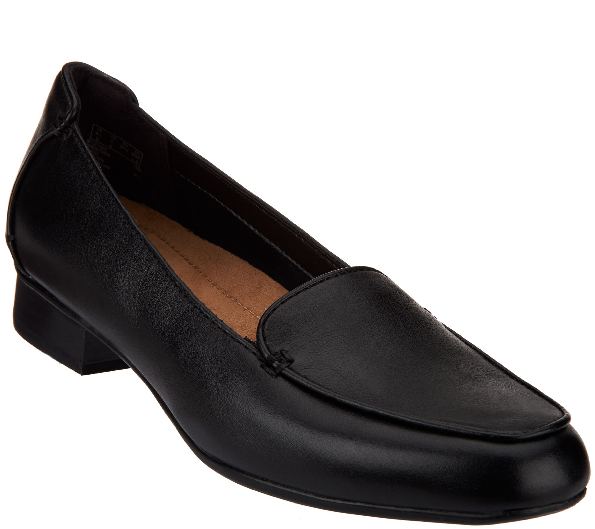 675d1b50605 Clarks Artisan Leather Slip-on Loafers - Keesha Luca - Page 1 — QVC.com