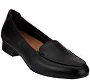Clarks Artisan Leather Slip-on Loafers - Keesha Luca - A271063