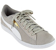 As Is PUMA Suede Lace-up Sneakers - Vikky Classic - A289663