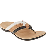 Spenco Orthotic Triple Strap Thong Sandals - Trinity - A304863