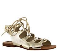 Bella Vita Lace-up Leather Sandals - Oriana - A339963