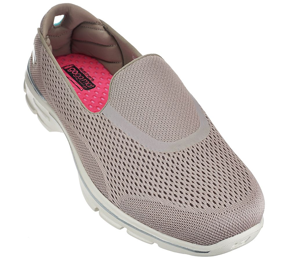 ecae7efb5a83 Skechers GOWalk 3 Mesh Slip-on Sneakers - Strike - Page 1 — QVC.com