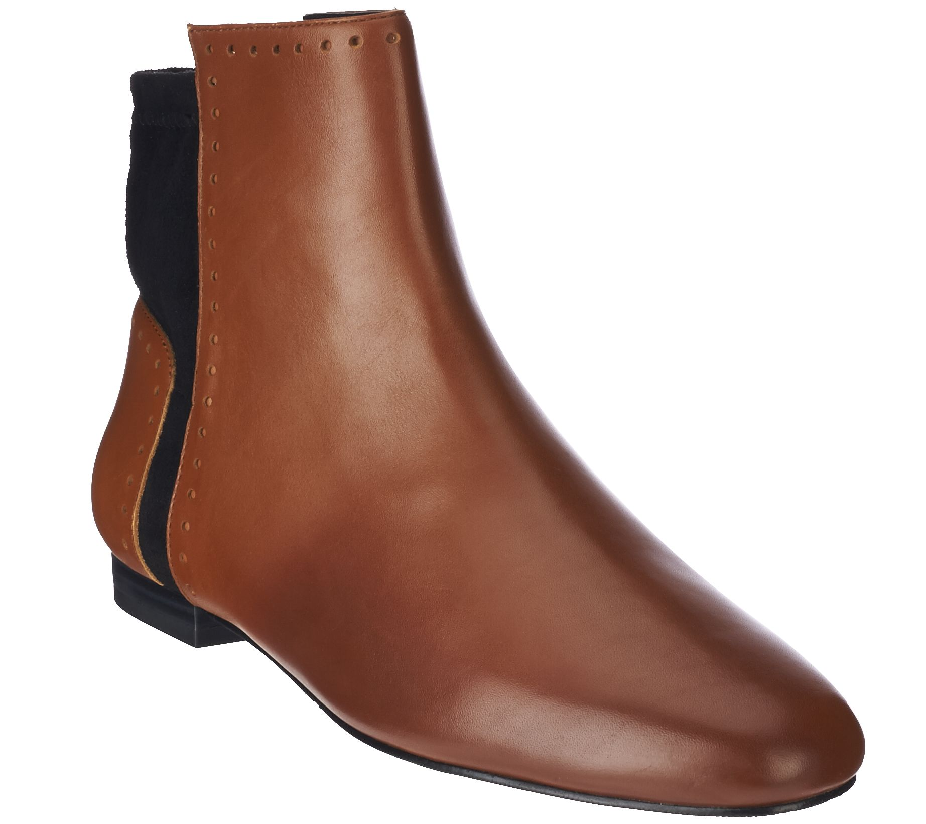 discount low shipping fee LOGO by Lori Goldstein Low Shaft Pebble Leather Boots authentic cheap price sale looking for outlet best place outlet cost k3MrCzQk