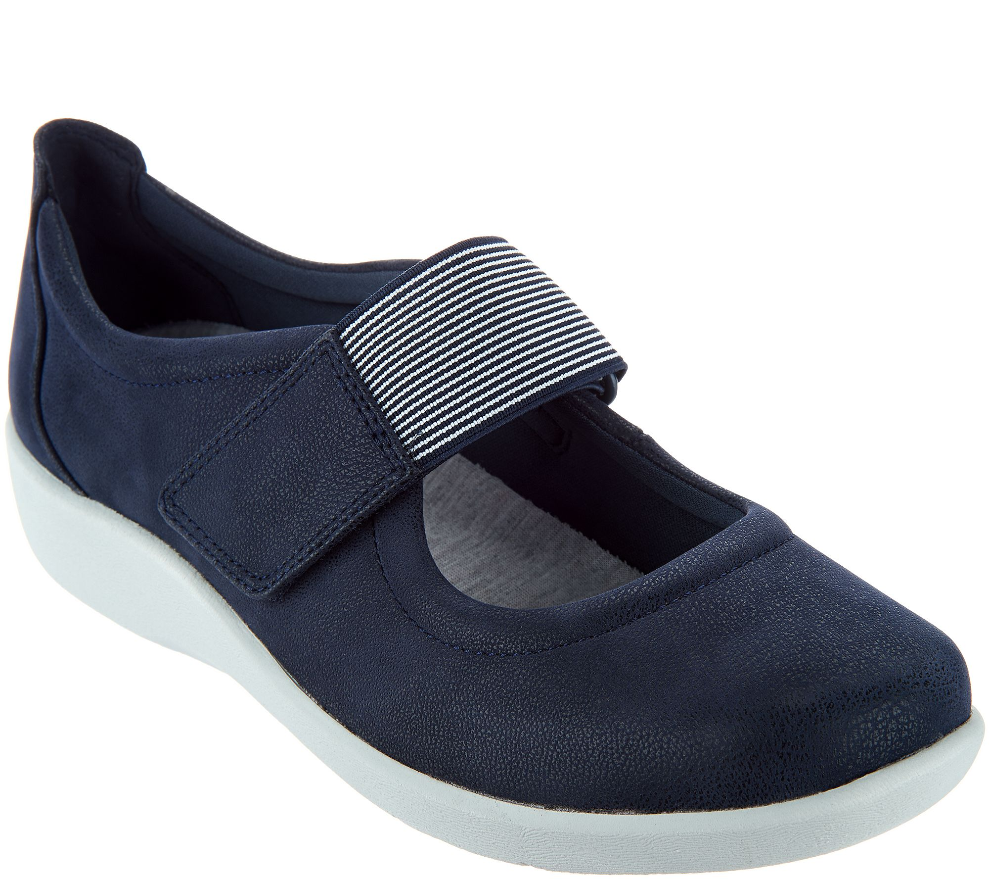 lower price with large discount classic style CLOUDSTEPPERS by Clarks Adjustable Mary Janes - Sillian Cala — QVC.com