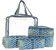 Aimee Kestenberg Nylon Set of 4 Cosmetic Bags - A296264