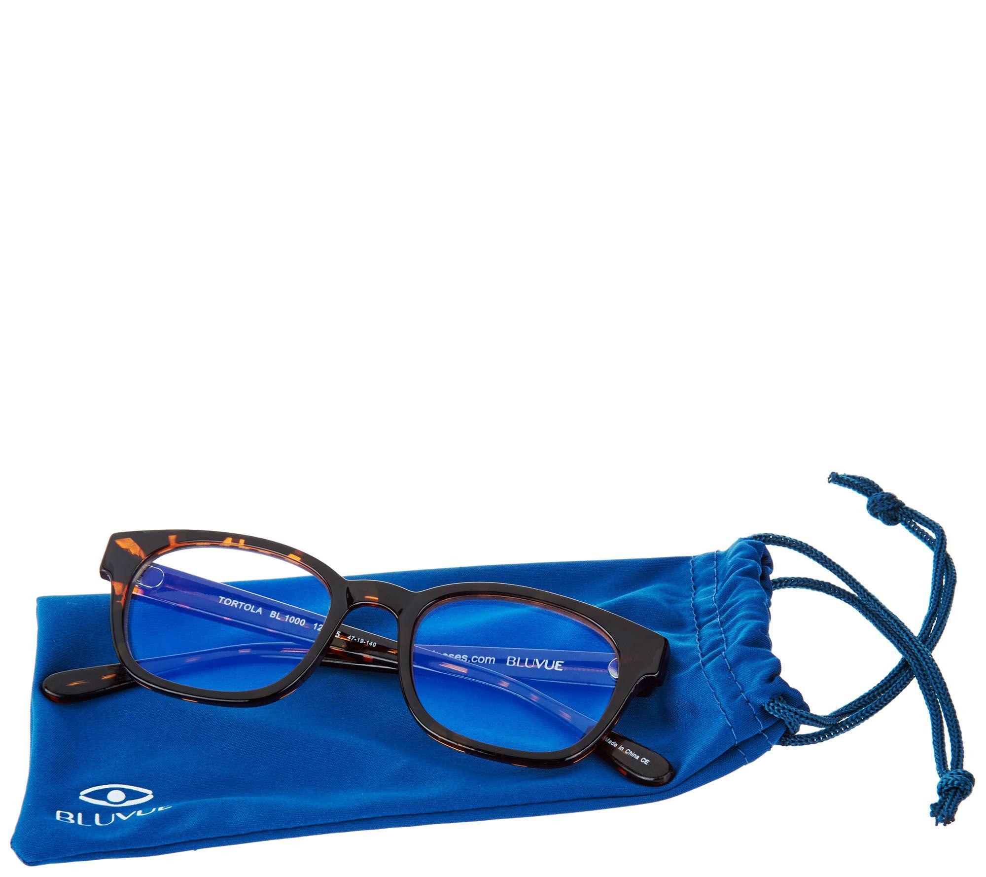 8291012ba68 BluVue Blue Light Reading Glasses Strength 1-2.5 - Page 1 — QVC.com