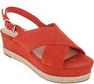 Marc Fisher Slingback Espadrille Wedges - Flama - A305364