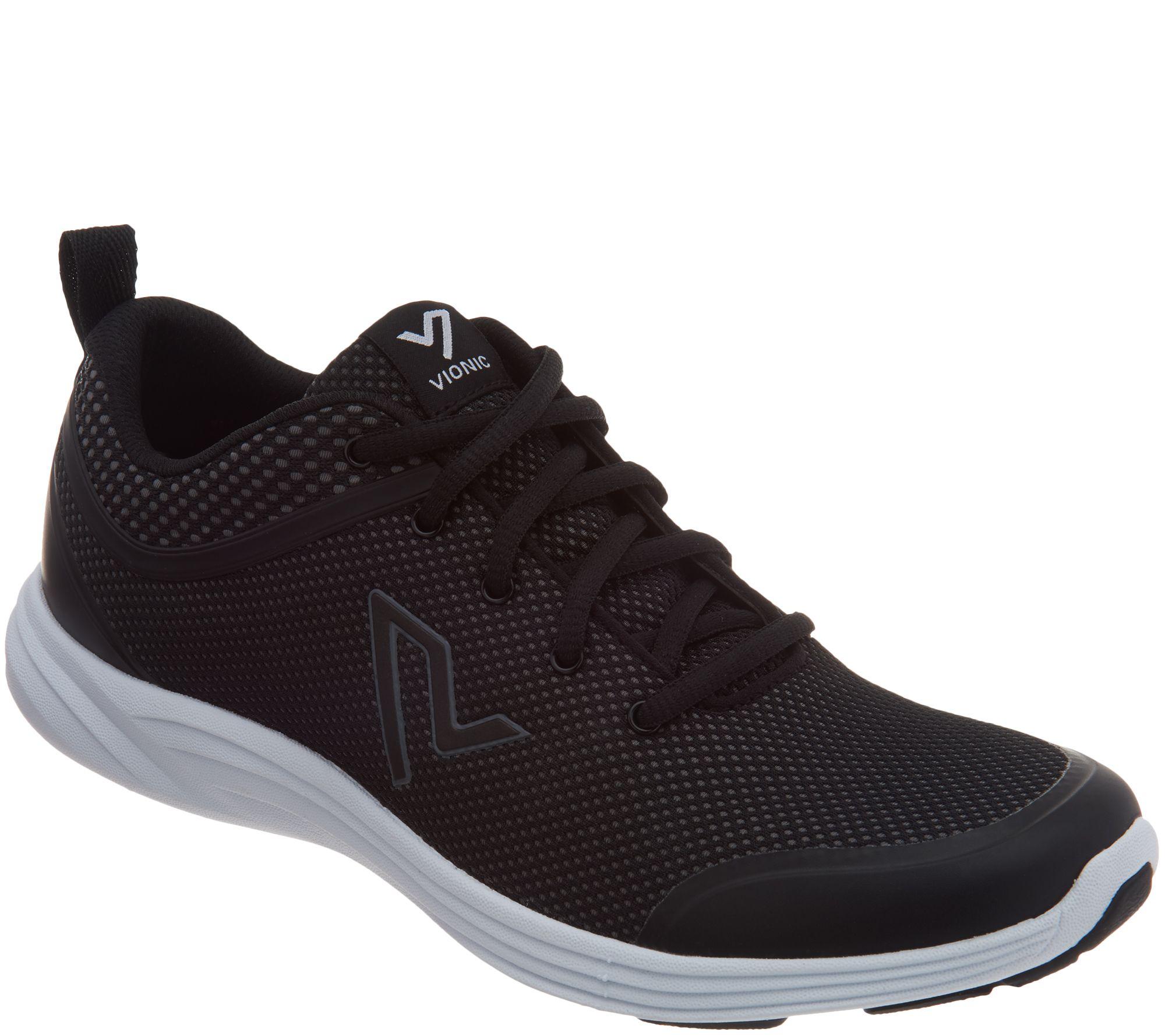 87297f75fdad Vionic Mesh Lace-Up Sneakers - Jasmine - Page 1 — QVC.com