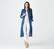 G.I.L.I. Denim Midi Duster - A310064
