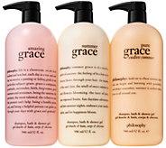 philosophy super-size summer of grace shower gel trio - A310664