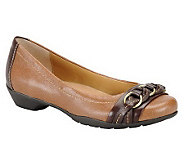 Comfortiva Leather Flats - Posie - A324764