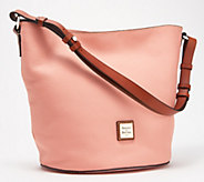 Dooney & Bourke Pebble Leather Thea Feed Bag - A351964
