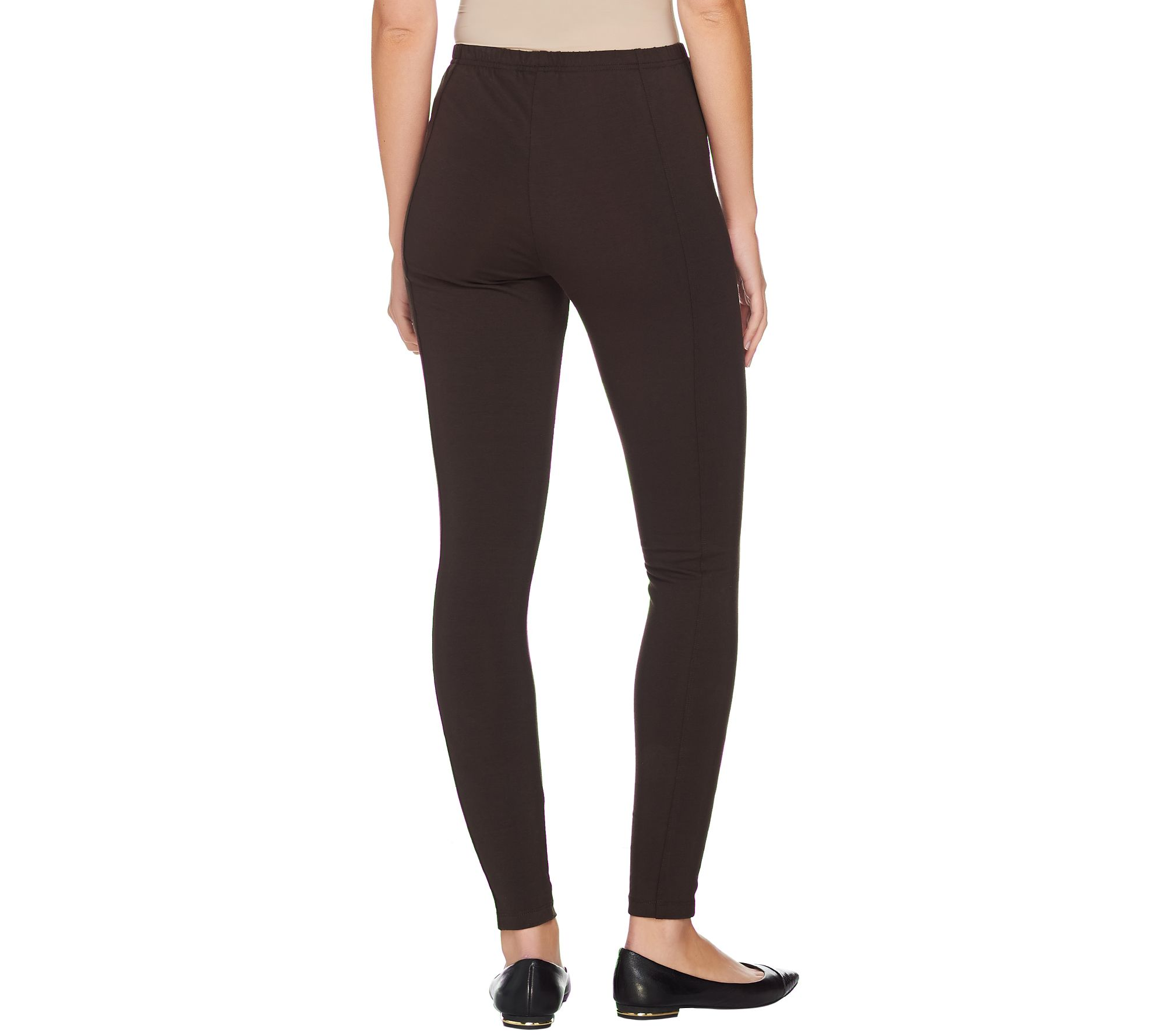 10928037ff552c Women with Control Petite Pull-On Leggings with Side Panels - Page 1 —  QVC.com
