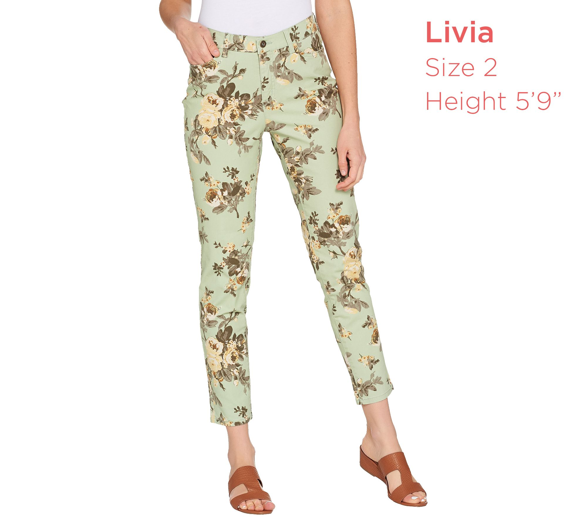 10657c8dcb8d36 Hardware-Accent Ankle Pant All-Season Stretch Pants New York & Co