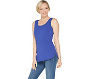 Wicked by Women with Control Essentials Shirttail Hem Tank - A306465